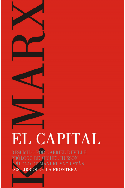 Libro El Capital de Karl Marx